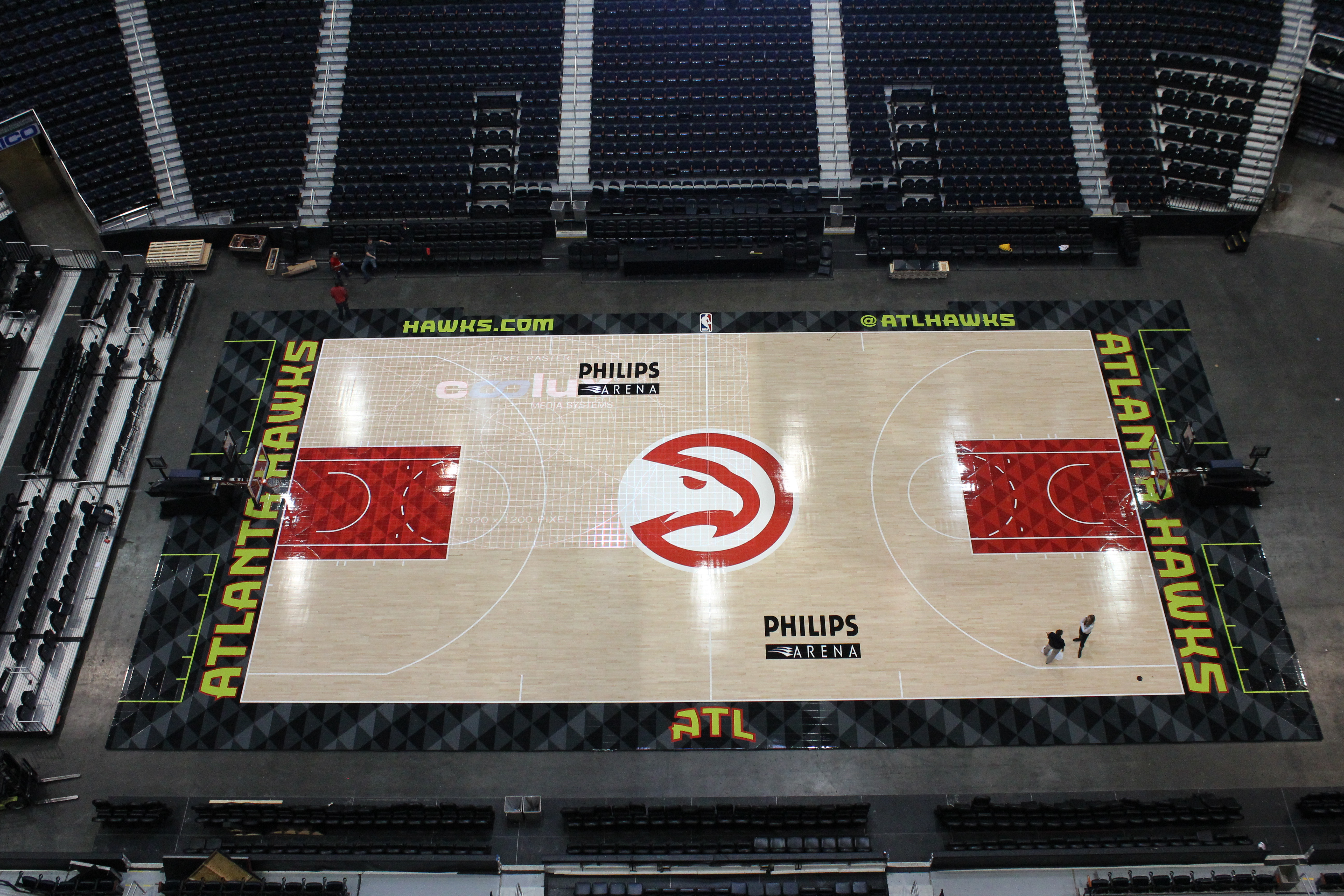 Champions of Sport: Atlanta Hawks to Open 2015-2016 NBA Season on New Connor Sports Basketball Court